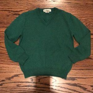 GUC Boys Green Cashmere Sweater